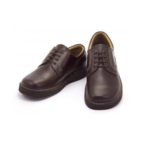 リーガルウォーカー JJ23 AG 3E REGAL プレーントゥ メンズ ビジネスシューズ ダークブラウン【バーゲン】|shoesdirect|02