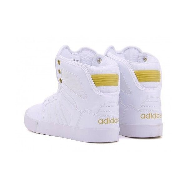 adidas スニーカー ハイカット 白