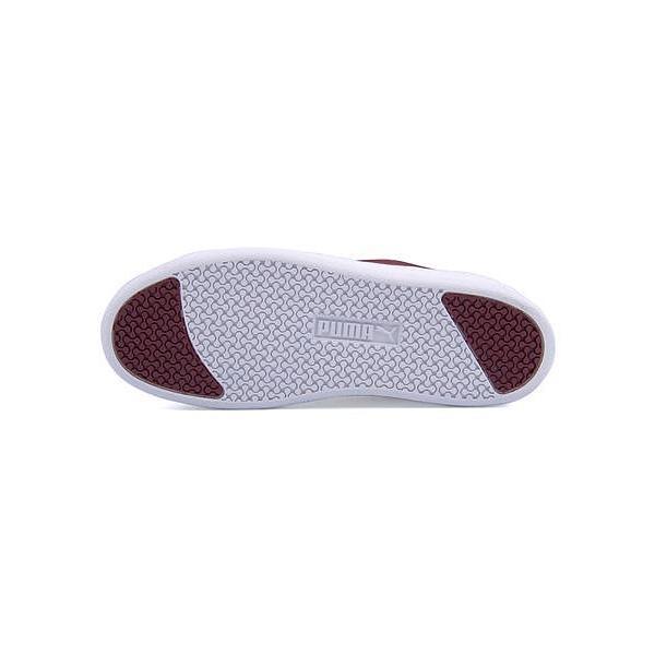 プーマ ローカット スニーカー レディース スマッシュプラットフォームSD SMASH PLATFORM SD PUMA 366488 コードバン/プーマホワイト