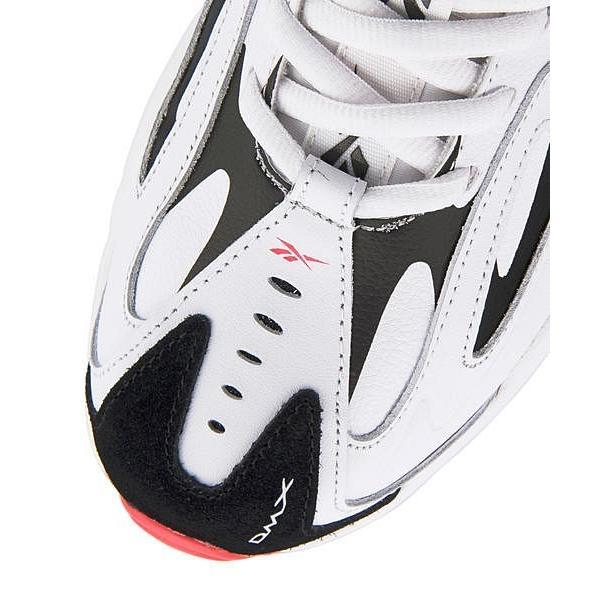 リーボック ダッドシューズ スニーカー レディース DMXシリーズ1200 DMX SERIES 1200 Reebok CN7590 ホワイト/ブラック/ネオンレッド/ミネラルミスト