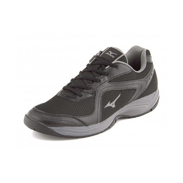 ミズノ メンズ ウォーキングシューズ スニーカー 軽量性 耐久性 3E エクササイズ イージースター3 mizuno B1GE153505 ブラック/グレー|shoesdirect|03