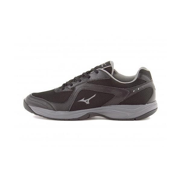 ミズノ メンズ ウォーキングシューズ スニーカー 軽量性 耐久性 3E エクササイズ イージースター3 mizuno B1GE153505 ブラック/グレー|shoesdirect|05