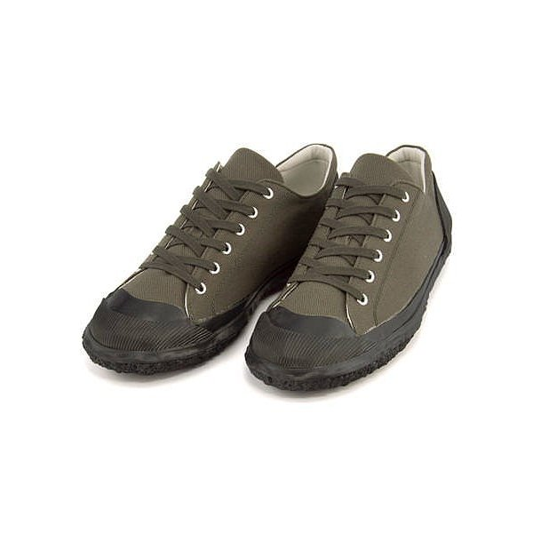 ローカット スニーカー メンズ キャンバス 撥水 ガムマスター GUMMASTER 5863GFS カーキ|shoesdirect|02
