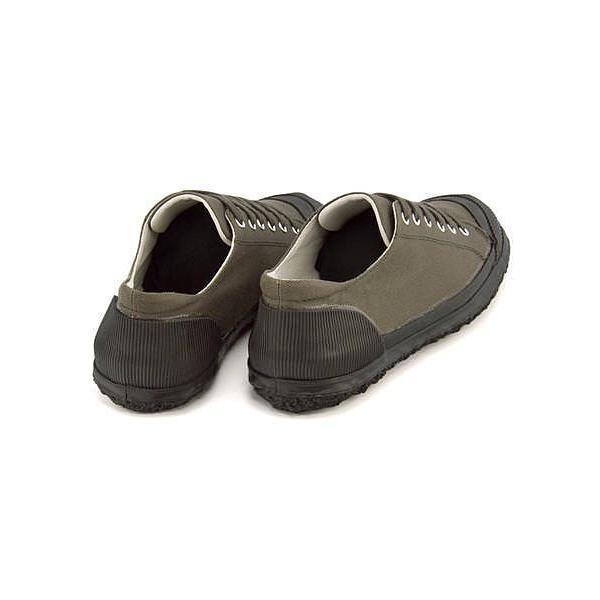 ローカット スニーカー メンズ キャンバス 撥水 ガムマスター GUMMASTER 5863GFS カーキ|shoesdirect|04