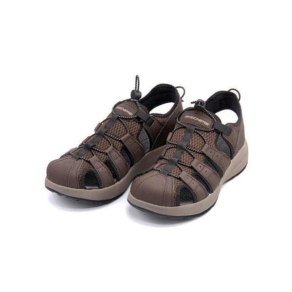スケッチャーズ スポーツ サンダル メンズ メルボジャーニーマン2 MELBO- JOURNEYMAN 2 SKECHERS 51834 ブラウン|shoesdirect