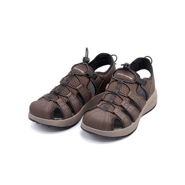 スケッチャーズ スポーツ サンダル メンズ メルボジャーニーマン2 MELBO- JOURNEYMAN 2 SKECHERS 51834 ブラウン|shoesdirect|02