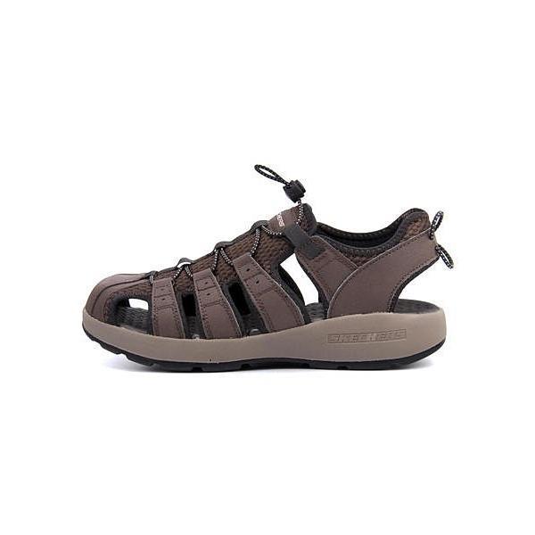 スケッチャーズ スポーツ サンダル メンズ メルボジャーニーマン2 MELBO- JOURNEYMAN 2 SKECHERS 51834 ブラウン|shoesdirect|05
