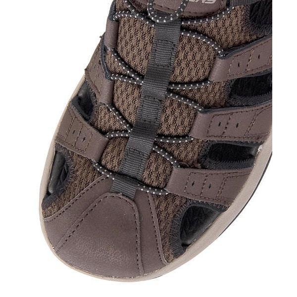 スケッチャーズ スポーツ サンダル メンズ メルボジャーニーマン2 MELBO- JOURNEYMAN 2 SKECHERS 51834 ブラウン|shoesdirect|07
