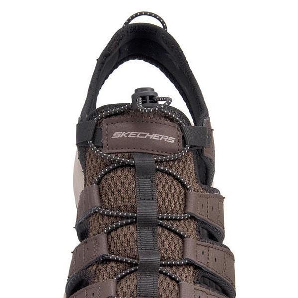 スケッチャーズ スポーツ サンダル メンズ メルボジャーニーマン2 MELBO- JOURNEYMAN 2 SKECHERS 51834 ブラウン|shoesdirect|10