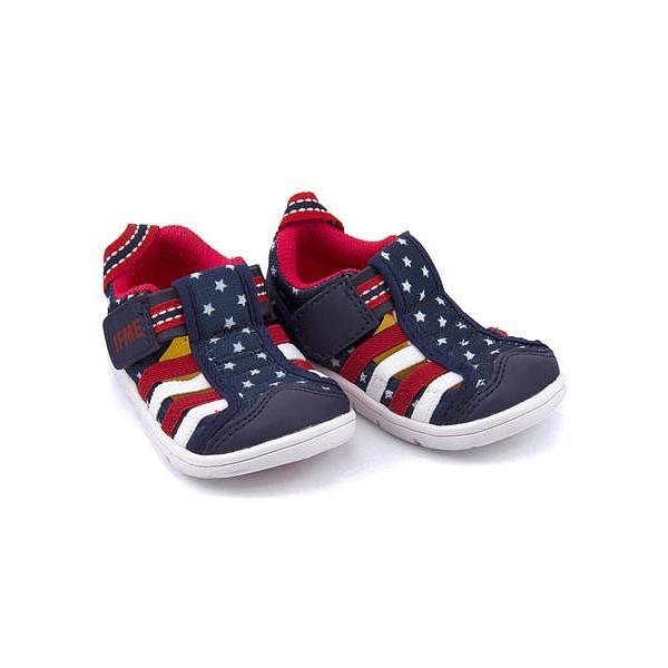 7eb8aea49e436 イフミー ベビーシューズ ウォーターシューズ スニーカー 女の子 男の子 キッズ ベビー 子供靴 IFME 22-8870 ...