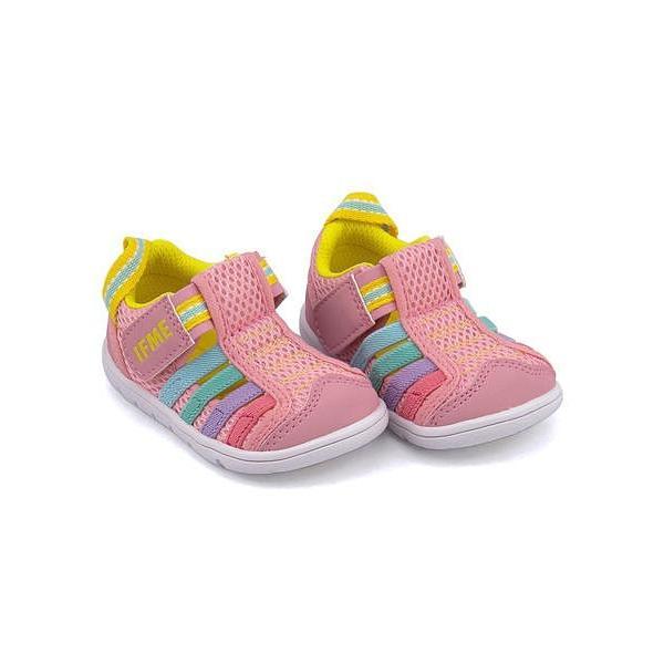 bc88fd3bc8cb0 イフミー ベビーシューズ ウォーターシューズ スニーカー 女の子 キッズ ベビー 子供靴 IFME 22-8870 ピンク ...