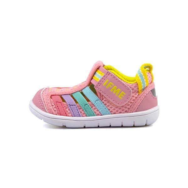 657dae8b1306c ... イフミー ベビーシューズ ウォーターシューズ スニーカー 女の子 キッズ ベビー 子供靴 IFME 22-8870 ピンク ...