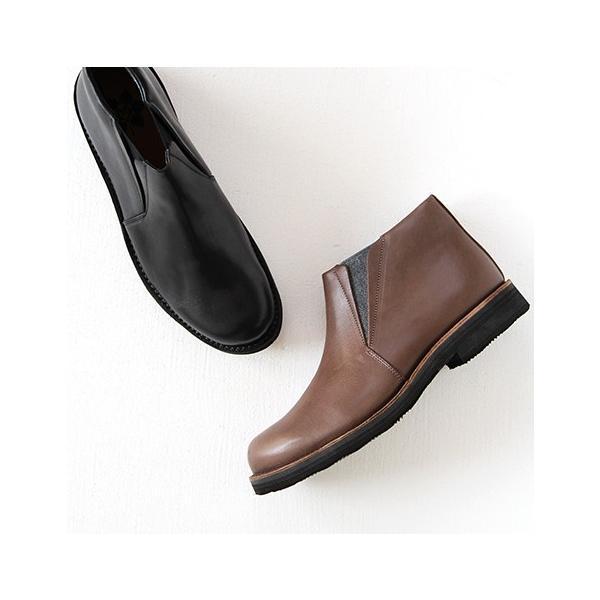 MUKAVA ムカヴァ ムカバ サイドゴアブーツ MU-985 レディース 靴