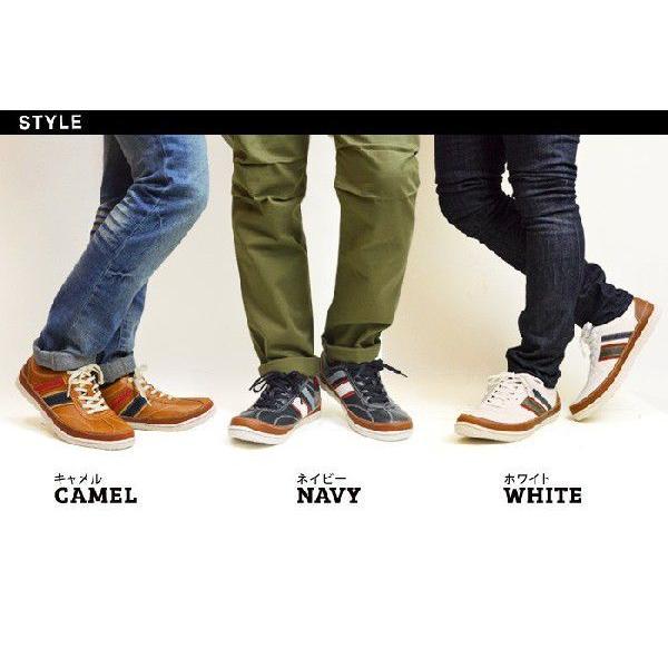 スニーカー 靴 メンズ シューズ メンズスニーカー カジュアルシューズ ローカット レースアップ 紐 メンズ 靴|shoesquare|03