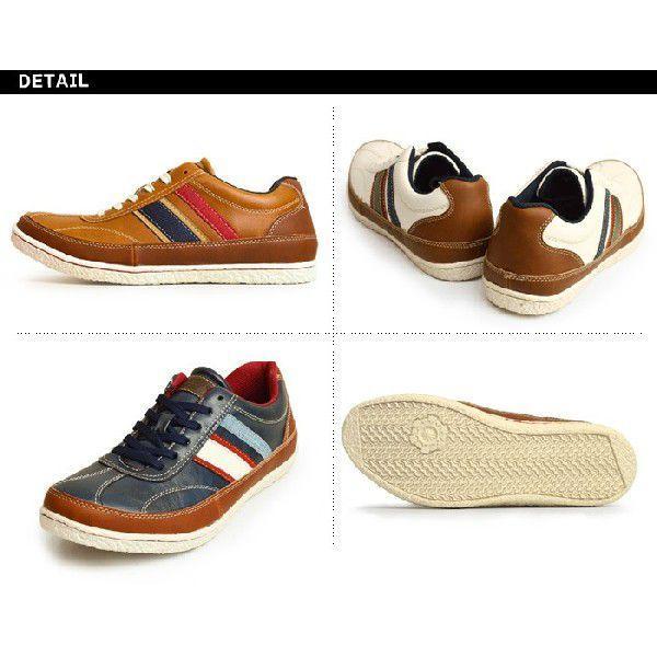 スニーカー 靴 メンズ シューズ メンズスニーカー カジュアルシューズ ローカット レースアップ 紐 メンズ 靴|shoesquare|04