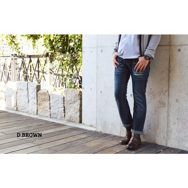 ショートブーツ ブーツ ワークブーツ 靴 メンズ メンズブーツ ドレープブーツ エンジニアブーツ Wジッパー メンズ 靴 男 Zeeno ジーノ 2018 冬|shoesquare|14