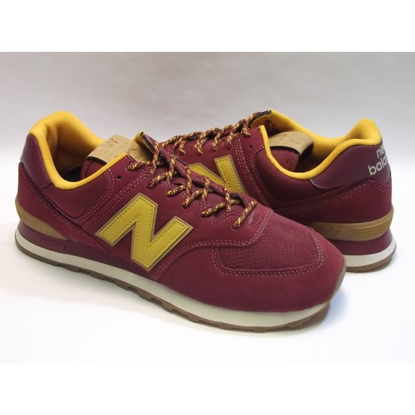lowest price 5626c 02725 NEW BALANCE ML574 mercury red/gold rush ニューバランス ML574 ...