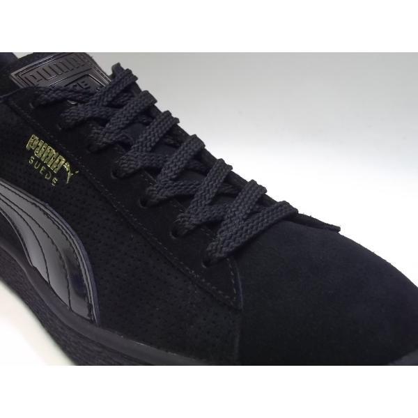 PUMA suede m basket nk puma black/gold プーマ スエード バスケット NICE KICKS ブラック/ゴールド 黒 金 コラボ アメリカ 未発売 海外 限定 363496-01|shoety|06