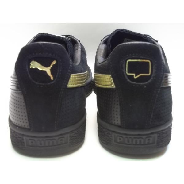 PUMA suede m basket nk puma black/gold プーマ スエード バスケット NICE KICKS ブラック/ゴールド 黒 金 コラボ アメリカ 未発売 海外 限定 363496-01|shoety|08