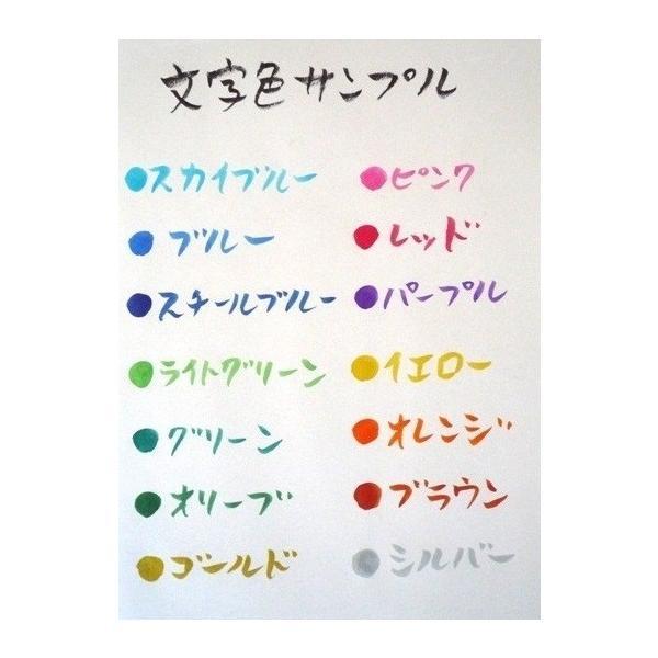 お名前ポエム〜5色から選べる華やかな色紙にポエムをお書きした色紙額|shogendo|05