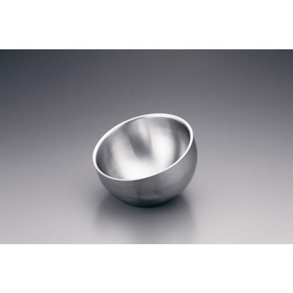 ドンナム ダブルウォール アングルボール 24cm 7-1545-0102 サラダボール|shokki-pro