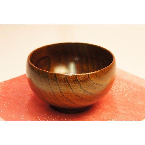 栗(くり) 銘木汁椀