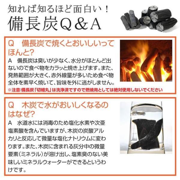 『紀州備長炭「小炭」』 280g前後 炭 木炭 白炭 浄水 炊飯 消臭 国産 水 shokunooishasan 12