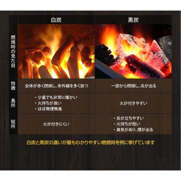 『紀州備長炭「小炭」』 280g前後 炭 木炭 白炭 浄水 炊飯 消臭 国産 水 shokunooishasan 05