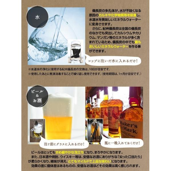 『紀州備長炭「小炭」』 280g前後 炭 木炭 白炭 浄水 炊飯 消臭 国産 水 shokunooishasan 09