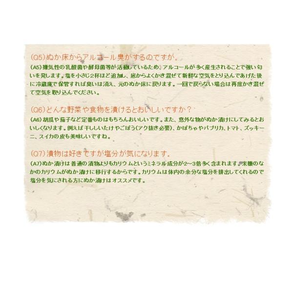 テレビでも話題のぬか床!漬けもん屋の『ぬか床800g(袋入り)』メール便送料無料!|shokunooishasan|13