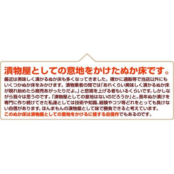 テレビでも話題のぬか床!漬けもん屋の『ぬか床800g(袋入り)』メール便送料無料!|shokunooishasan|17