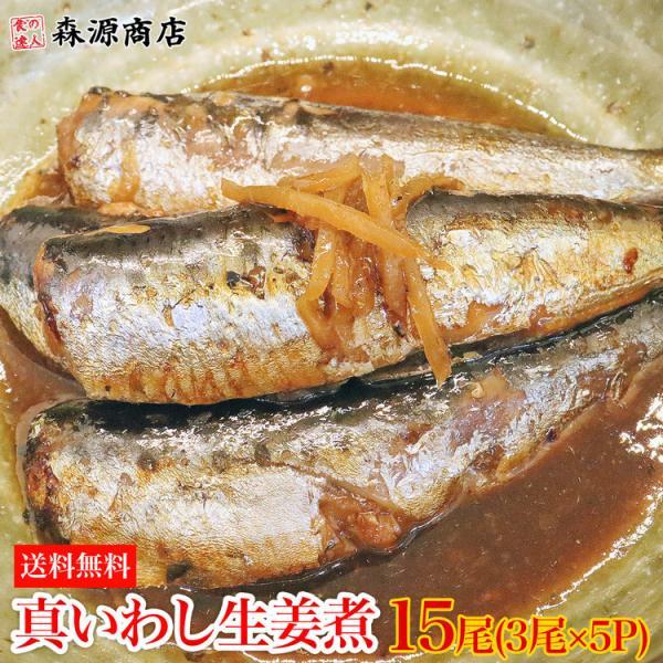 いわし イワシ 鰯 生姜煮 10尾 冷凍 真イワシ 国産 煮魚 おかず