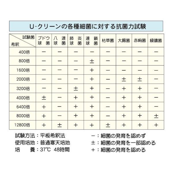 除菌洗浄剤 3kg U-CLEAN(Uクリーン)1kg 3個セット|shonan-fragrance|05