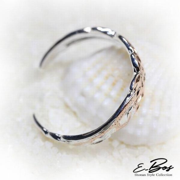 ハワイアンジュエリー リング トゥーリング 2wey ピンキーリング 指輪 K14 ピンク 2tone SILVER925 カットアウト レディース プレゼント tor010