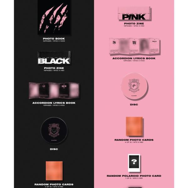 【VER選択|タイトル和訳】BLACKPINK KILL THIS LOVE 2ND MINI ブラック ピンク 2集 ミニ BLACK PINK 【先着ポスター保証|レビューで生写真10枚|宅配便】|shop-11|03