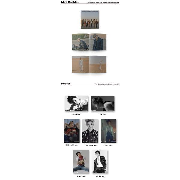 【韓国盤|VER選択|全曲和訳】SuperM 1st Mini Album SUPER M スーパーエム 1集 アルバム【先着ポスター|レビューで生写真5枚|送料無料】|shop-11|03