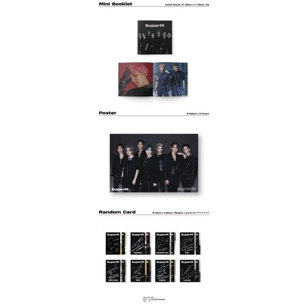 【韓国盤|VER選択|全曲和訳】SuperM 1st Mini Album SUPER M スーパーエム 1集 アルバム【先着ポスター|レビューで生写真5枚|送料無料】|shop-11|05