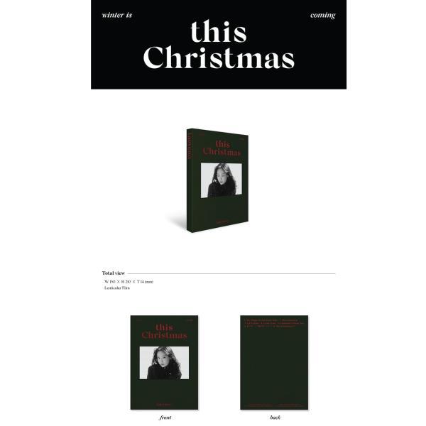 【TITLE和訳】TAE YEON THIS CHRISTMAS WINTER IS COMING テヨン クリスマス【先着ポスター レビューで生写真5枚 送料無料】 shop-11 02