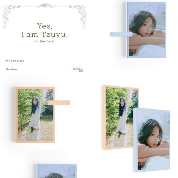 【VER選択】TWICE ツウィ YES, I AM TZUYU 1ST PHOTOBOOK 写真集【レビューで生写真5枚|宅配便】|shop-11|02