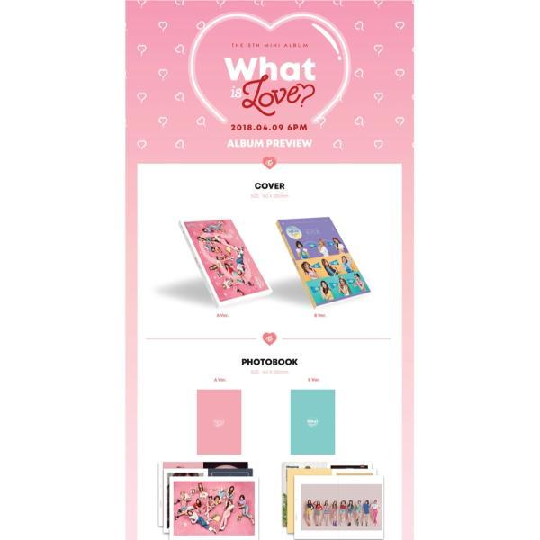 twice 5th mini album what is love 8 sticker set Music