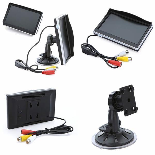 バックカメラ モニターセット 5.0インチ オンダッシュ 液晶 高画質 車載用カメラ ALW-OMT50-A0119N|shop-always|02
