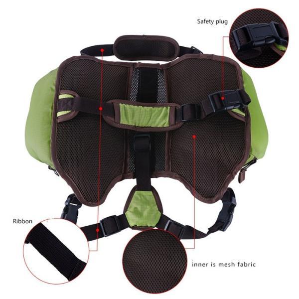 犬用 折りたたみ式防水 バックパック お出かけ用 お散歩用 折りたたみ式 旅行用 リュック 内側メッシュ加工 ペット用品  Mサイズ  ALW-PD305-M|shop-always|04