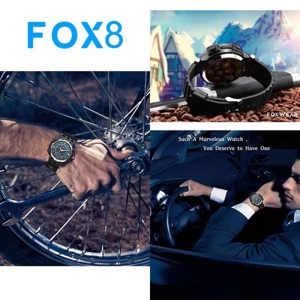 スマートウォッチ FOXWEAR 腕時計 屋外スポーツ用 カメラ ビデオ レコーダー ナイトビジョン Wi-Fi 生活防水 8G ◇ALW-FOX8-8GB|shop-always|06