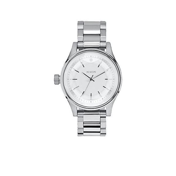 当店1年保証 ニクソンNixon Women's A4091920 Facet 38 Analog Display Japanese Quartz Silver Watch