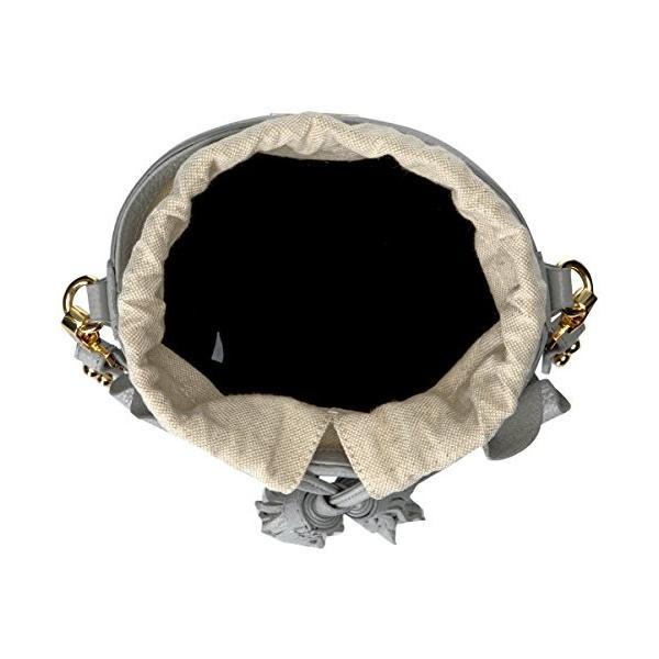 ミリーMILLY Astor Ruffle Drawstring Bucket, Grey