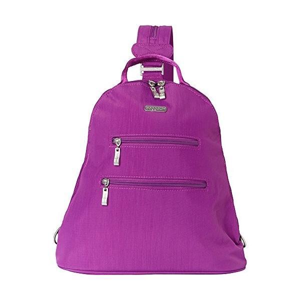 バッガリーニbaggallini Inspire Travel Backpack with RFID Wristlet - (Magenta/Skylight)