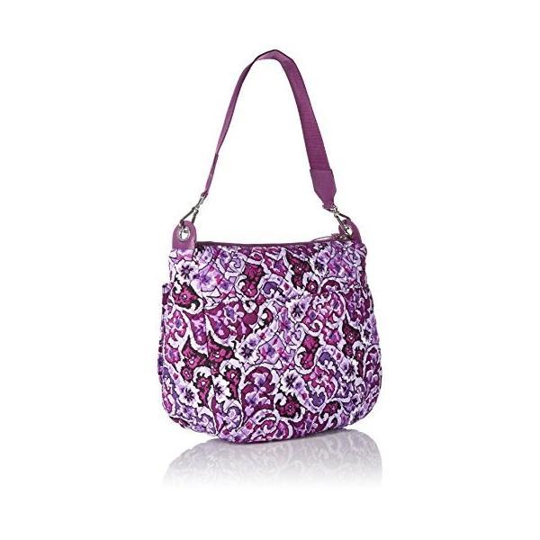 ヴェラブラッドリーVera Bradley Carson Shoulder Bag, Lilac Paisley