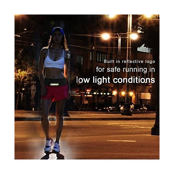 海外正規品GEARWEAR Running Belt Workout Waist Bag Pack for iPhone 7 X 8 6 Plus Man Woman/Lightweight Phone Runners Belt for W|shop-angelica|06