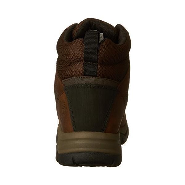 ティンバーランドTimberland Women's Keele Ridge WP Leather Mid Winter Boot, Medium Brown Connection Full Grain, 8.5 M US