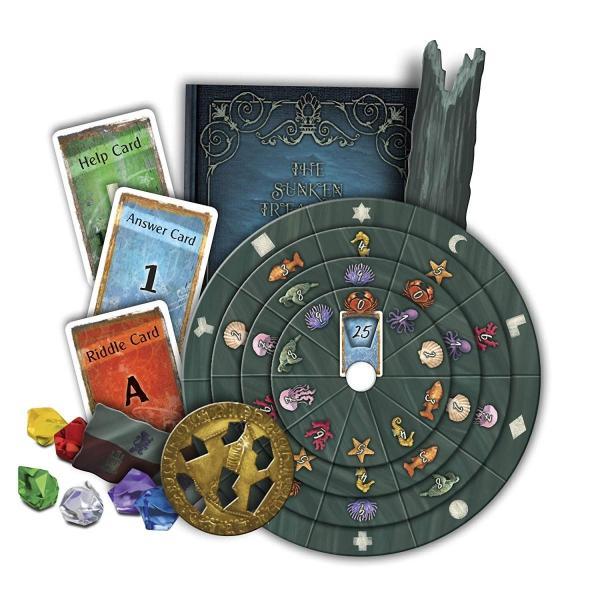 英語Exit: The Sunken Treasure | Exit: The Game - A Kosmos Game | Family-Friendly, Card-Based at-HoStandard|shop-angelica|03